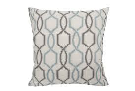 accent pillow hampton trellis teal 18x18 living spaces