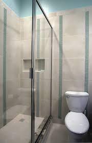 bathroom interior bathroom small blue shower room beside