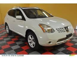 Nissan Rogue White - 2008 nissan rogue sl awd in phantom white pearl 120946 vannsuv