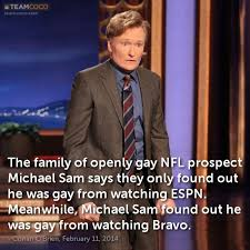 Michael Sam Meme - joke the family of openly gay nfl prospect michael sam