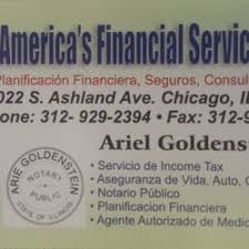 financial services phone number america s financial services tax services 2022 s ashland ave