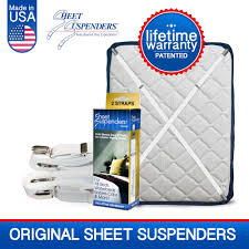 Strongest Sheets On The Market by The Original Sheet Suspenders Company Sheetsuspenders