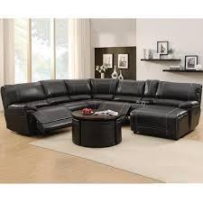 Flexsteel Sectional Sofa Endearing Black Leather Reclining Sectional Sofa Flexsteel