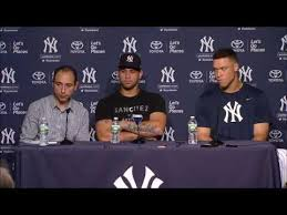 Aaron Judge Gary Sanchez Struggle In Game 1 Loss To Indians Newsday - aaron judge and gary sanchez on their all star game selection youtube
