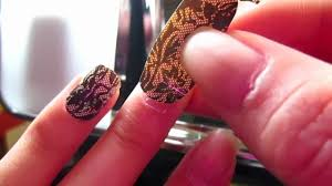 sally hansen salon effects nail strips how to apply youtube