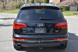 Audi Q7 Night Black - 2014 audi q7 3 0t quattro premium plus stock 7004 for sale near