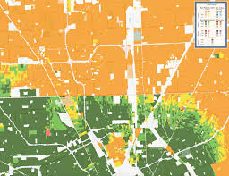 Maps Of Chicago Neighborhoods by Map Shows Racial Diversity Of Every Neighborhood In Continental U S