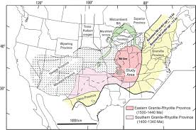 Southeast Map Of The United States by Regional Geologic And Petrologic Framework For Iron Oxide