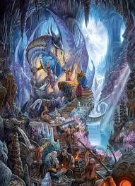 dragonforge 1000 jigsaw puzzle by cobble hill puzzle