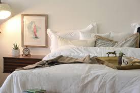 floating night stand drawer lotus nightstand russet brown