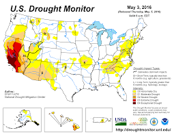 california drought map january 2016 drought april 2016 state of the climate national centers for