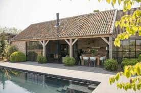 Pool House Garage Pin By Yolanda On Poolhouses Pinterest House Pools Country