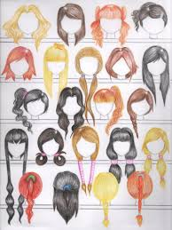 deviantart more like 50 female anime hairstyles by anaiskalinin