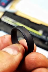 black wedding bands for mens wedding bands for a stylish look oh so