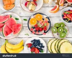 fresh fruits background healthy diet food stock photo 429942427