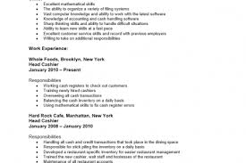 Sample Resume For Cashier Retail Stores by Grocery Store Clerk Resume Examples Reentrycorps