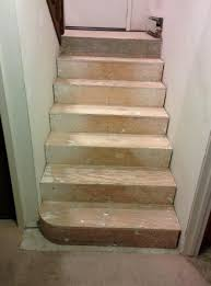 stair treads riser question expansion gap necessary