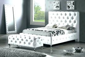 White Headboard King White Leather King Headboard Paperfold Me