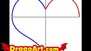 draw easy heart step step video dailymotion
