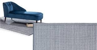 teal rug large cotton flatweave 240 x 170cm arlo made com
