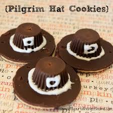 pilgrim hat cookies a thanksgiving dinner wait til
