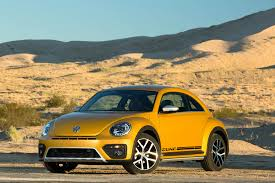 yellow baja bug 2016 volkswagen beetle dune review autoweb