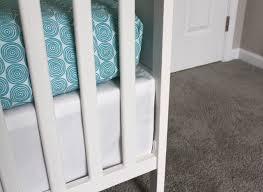 crib skirt for an ikea sundvik crib rachel swartley