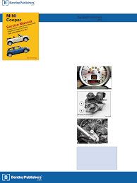 mini cooper r55 r56 r57 service manual 2007 2011 table of