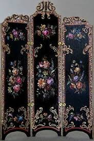 4 panel screen room divider paravent indian hand carved wooden r