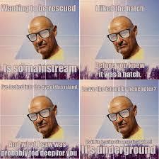 John Locke Meme - a meme for people who were into lost before it got popular