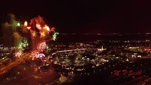 cheshire oaks christmas 2017 drone view youtube