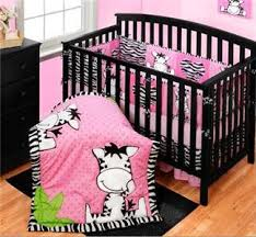 Girls Zebra Bedding by Baby Girls Nursery Pink Black White Zebra Stripe Kid U0027s Room