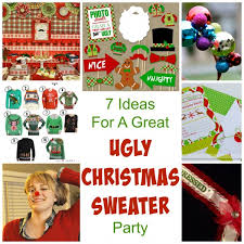 Christmas Sweater Party Ideas - 7 ideas for a great ugly christmas sweater party u2013 party ideas