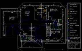 floor plan using autocad bungalow autocad drawings shuaib reeyaz