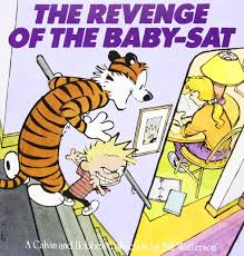 the revenge of the baby sat bill watterson 9780836218664 amazon