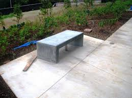 learn how to build your own concrete garden bench your projects obn