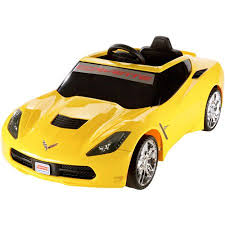 corvette power wheels power wheels yellow corvette walmart com