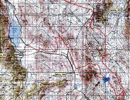Reno Map Nevada Vegas To Reno Ohv 2009 Race Route