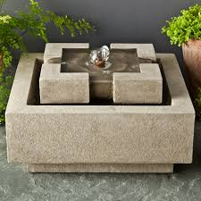 yosemite home decor stainless steel cube fountain hayneedle