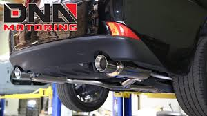 invidia q300 lexus gs 350 j2 engineering 13 lexus is250 catback exhaust installation youtube