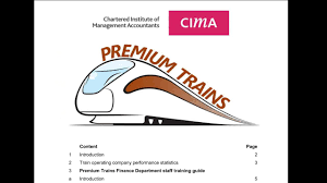 premium trains the cima student
