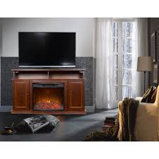 furniture magnificent media center with fireplace electric shay
