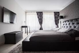 chambre couleur grise chambre à coucher de luxe dans la couleur grise image stock image