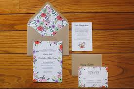 Backyard Wedding Invitations A Colorful Backyard Wedding In Virginia Photos Brides
