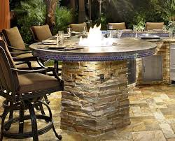 Firepit Table Built In Firepit Table Fireplaces Firepits Built In