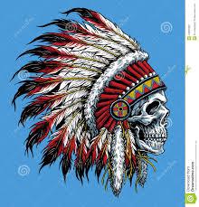 sugar skull with indian headdress sugar skull headdress