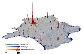 Population Map Use Cellphone Data To Construct Population Density Maps