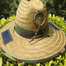 hat with fan built in anti heatstroke solar control powered fan sun hat cap lierihattu