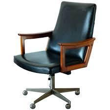 desk chairs mid century modern desk furniture vintage leather