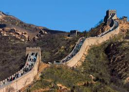 Map Of The Great Wall Of China by Great Wall Of China